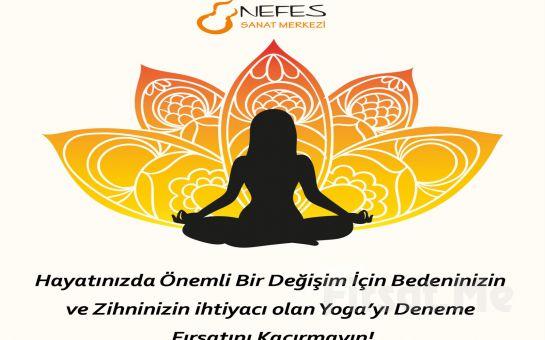 Ataşehir Nefes Sanat Merkezinden Siz ve Çocuklarınız için 3 Aylık Yoga Dersleri