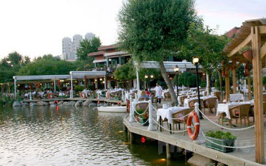 Bahçeşehir Göl Et Restaurant'ta Göl Manzarası Eşliğinde Karışık Izgara Menü