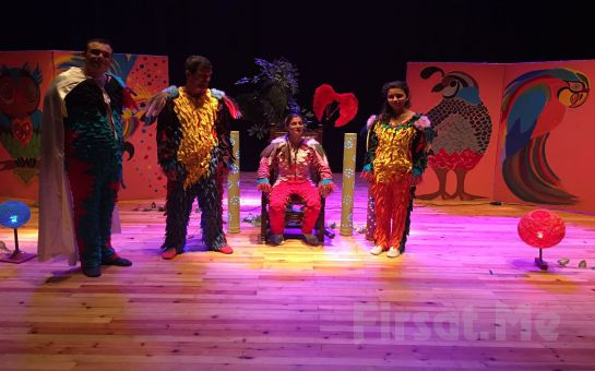 1001 Sanat'tan 'Kuşbaz' Müzikli Çocuk Tiyatro Oyun Bileti