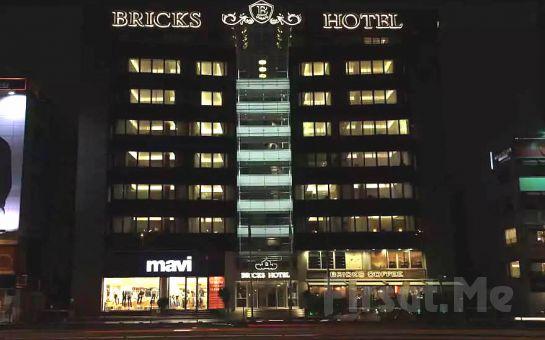 Yenibosna Bricks Airport Hotel'de King veya Süperior Odalarda 2 Kişi 1 Gece Konaklama ve Kahvaltı Keyfi