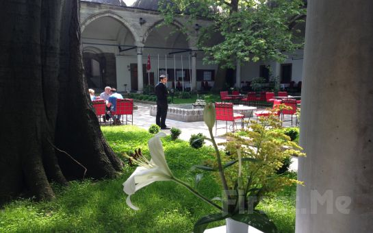Süleymaniye Darüzziyafe Bahçe'de Sınırsız Çay Eşliğinde Serpme Kahvaltı Keyfi
