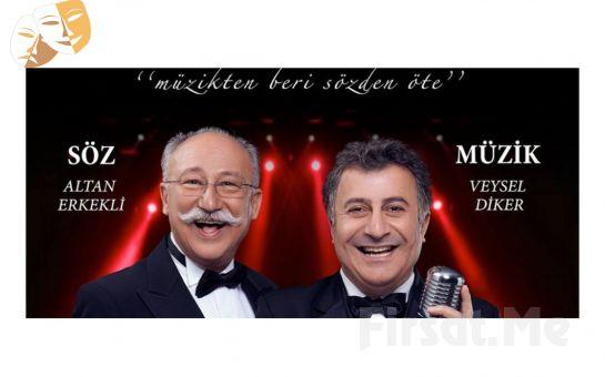 Altan Erkekli ve Veysel Diker'den Şifa Niyetine Tiyatro Bileti