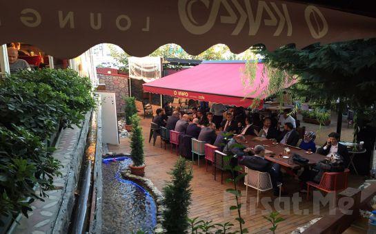 Cevizlibağ Kakao Lounge Cafe'de Serpme Kahvaltı veya 101 Çeşitten oluşan Açık Büfe Kahvaltı