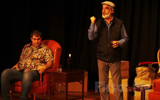 Ali Erdoğan'dan İçinizi Isıtacak Sıcak Sevgi Dolu SEVGİLER ALIYORUM ESKİCİ Tiyatro Oyun Bileti