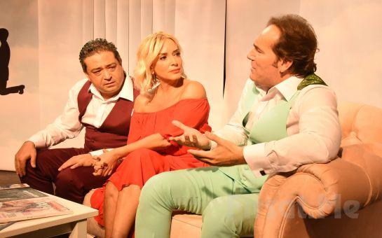 Savaş Özdural'ın Yazıp Yönettiği Kadın Aklı Erkek Aklı Tiyatro Oyunu Bileti