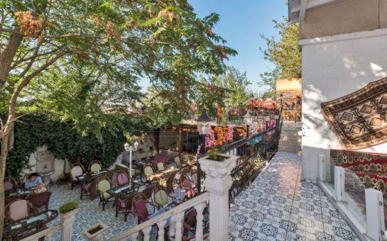 Beyaz Köşk Hotel ve Cafe Fatih'de Serpme Kahvaltı Keyfi