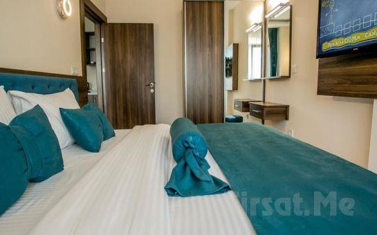 Beyzas Suites Şişli'nin Konforlu Odalarında 2 Kişi 1 Gece Konaklama ve Kahvaltı Keyfi