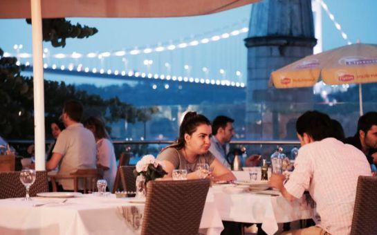 Rumeli Hisarı Pruva Restaurant'ta Boğaz'a Karşı Canlı Müzik ve Leziz Menü Eşliğinde Yılbaşı Eğlencesi