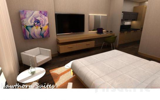 Hawthorn Suites By Wyndham İstanbul Esenyurt'da 2 Kişi 1 Gece Suite Odalarda Konaklama Keyfi Kahvaltı Seçeneğiyle