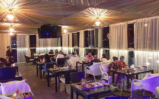 Grammy İstanbul Şişli'de Nargile veya Grammy Burger'den Oluşan Genç Menü Seçenekleri