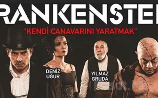 Cansel Elçin, Kerem Alışık ve Deniz Uğur'un Rol Aldığı Frankenstein Tiyatro Oyun Bileti