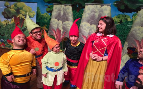 Ünlü Masal Klasiği Pamuk Prenses ve 7 Cüceler Çocuk Tiyatro Oyun Bileti