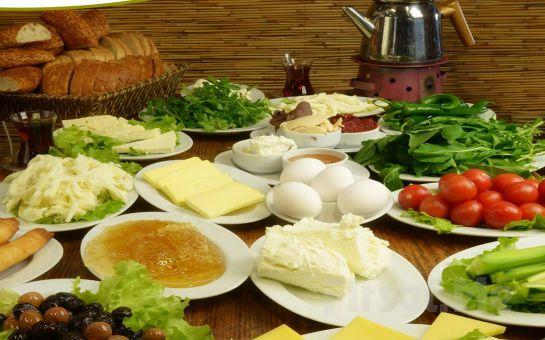 Madalyalı Restaurant Ataşehir'de Orman İçinde Serpme Kahvaltı Keyfi