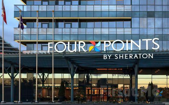 Four Points by Sheraton İstanbul Batışehir'de 2 Kişi 1 Gece Konaklama Kahvaltı Seçeneğiyle
