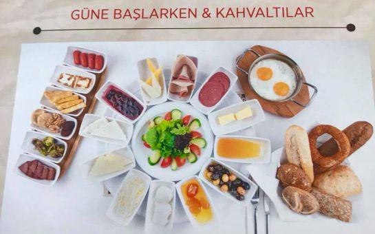İspinoz Cafe Çekmeköy'de Kahvaltı Tabağı, Serpme kahvaltı ve Açık Büfe Kahvaltı Keyfi