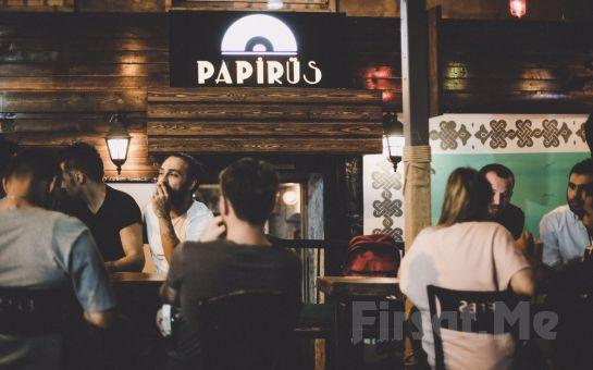 Papirüs Beyoğlu'nda Her Perşembe Sınırsız İçecek Dahil Karaoke Eğlencesi!