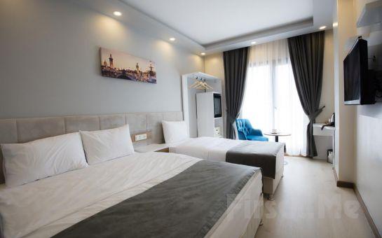 Royal İnci Airport Hotel Küçükçekmece'de Kişi Seçenekleriyle Kahvaltı Dahil Konaklama Seçenekleri