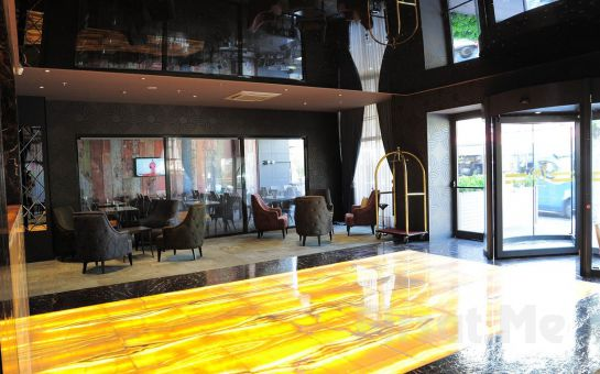 Damatris Palace Hotel Sancaktepe'de 2 Kişi 1 Gece Konaklama ve Kahvaltı Keyfi
