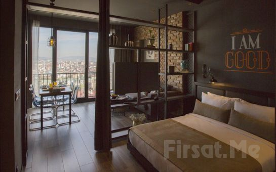 Cityloft 161 Hotel Ataşehir'de 2 Kişilik Suit Odalarda Konaklama Seçenekleri