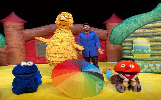 Çocuklarınız İçin Efsane Karakterleriyle 'Susam Sokağı' Tiyatro Bileti