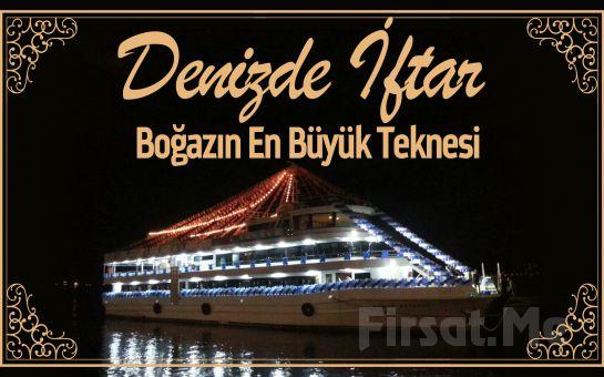 Boğazın İncisi 3 Katlı 'Cemile Ketenci' gemisinde Canlı Fasıl Eşliğinde Ramazan Eğlencesi