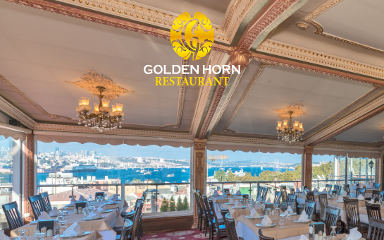 Golden Horn Restaurant Sirkeci'de Leziz İftar Menüsü