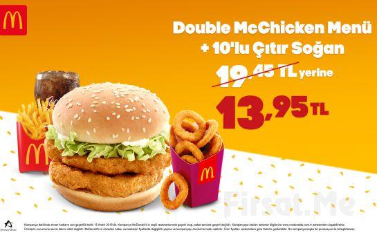 McDonald's'tan Enfes Menü Seçenekleri 12,95 TL'den Başlayan Fiyatlarla