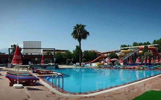Sultans Aquacity Fethiye'de Tüm Gün Aquapark, Pizza veya Hamburger Menü Seçenekleri