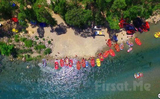 Adrenalin Tutkunlarına Mavi Rafting Köprülü Kanyon'da Öğle Yemeği Dahil Rafting Macerası