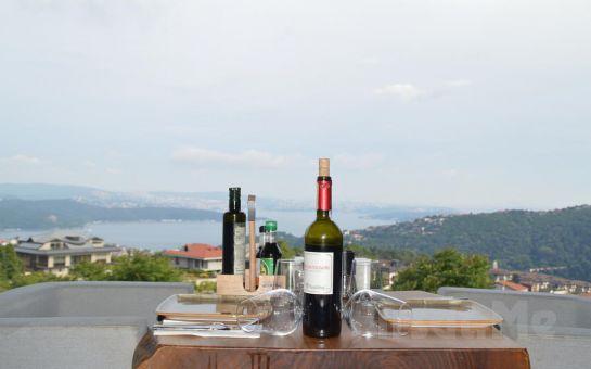 Sarıyer Simas Terrace Cafe & Restaurant'ta 2 Kişilik İçecek Dahil Leziz Yemek Menüleri
