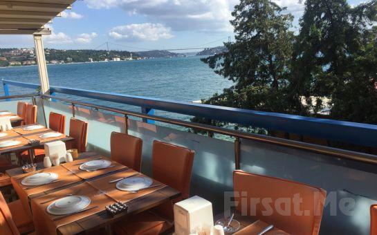 Yeniköy F. Erdilli Gourmet Slow Food'da Eşsiz Boğaz Manzarası Eşliğinde Leziz Akşam Yemeği Keyfi