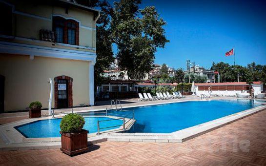 Montania Special Class Hotel Mudanya'da Hafta İçi Tüm Gün Havuz Kullanımı, Hamburger Menü Seçenekleri