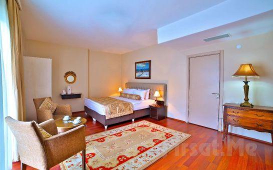 Beymarmara Suites Hotel Beylikdüzü'nde Konaklama ve Kahvaltı Seçenekleri