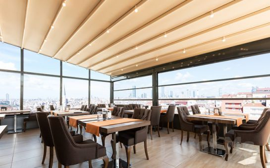 Mari Suites Hotel Şişli'de Kahvaltı Dahil Çift Kişilik Konaklama Keyfi