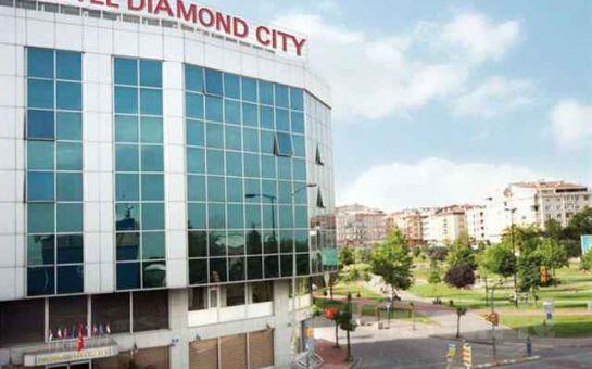 Diamond City Zeytinburnu'nda Kahvaltı Dahil Konaklama Seçenekleri