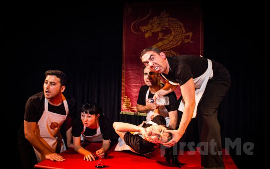 Tiyatro Tam'dan 'Altın Ejderha' Tiyatro Oyunu Bileti