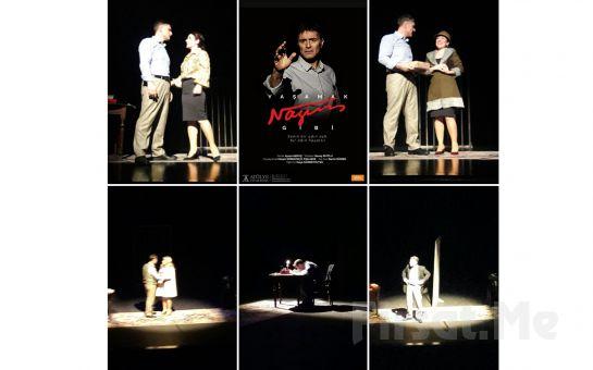 Hazım Körmükçü ve Tülin Boz'dan 'Yaşamak Nazım Gibi' Tiyatro Oyun Bileti