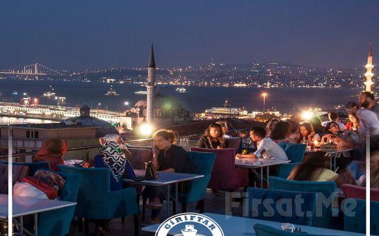 Göz Alıcı Bir Manzara ve Sınırsız Çay Eşliğinde Süleymaniye Giriftar Cafe'de Serpme Kahvaltı Keyfi