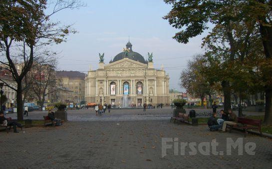 CRN Tur'dan, Unutulmayacak Ukrayna Lviv Turu! 4 Gece 5 Gün Oda Kahvaltılı Konaklama Fırsatı!