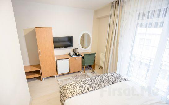 The Corner Inn Hotels by Suit Eskişehir'de Kahvaltı Dahil 2 Kişilik Konaklama Keyfi