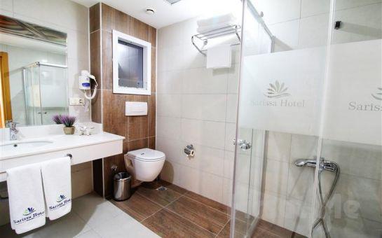 Sarissa Hotel Beylikdüzü'nde Çift Kişilik 14 Şubat Sevgililer Günü Konaklaması ve Açık Büfe Geç Kahvaltı