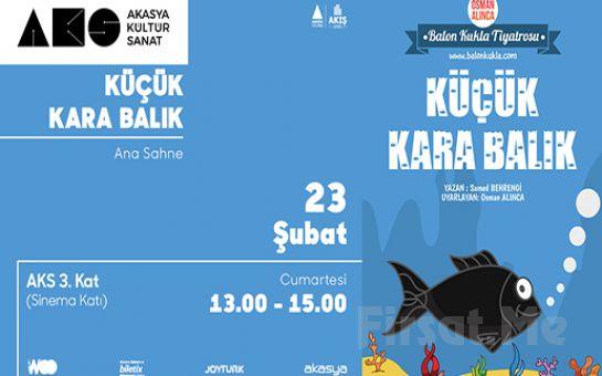Meraklı ve Maceracı Bir Hikaye 'Küçük Kara Balık' Tiyatro Bileti