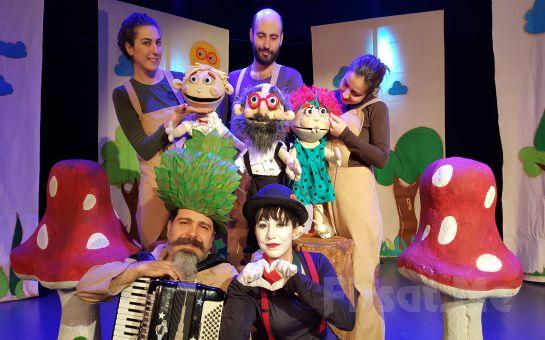 Doğa ve Sevgiye dair 'Bir Doğa Masalı: Yaşayan Kitap' Müzikli Çocuk Tiyatro Oyun Bileti