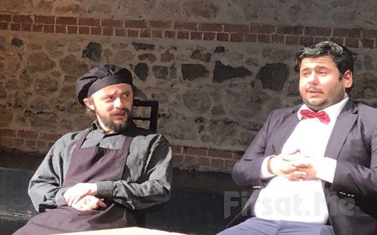 Günümüz İş ve İnsan İlişkilerini Karikatürize Eden Komedi 'Osmanlı Mutfağı' Tiyatro Oyunu Bileti