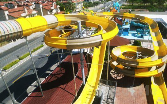 Sultans Aquacity Fethiye'de Tüm Gün Aquapark, Hamburger Menü Seçenekleri (15 Haziran'da Açıldı)