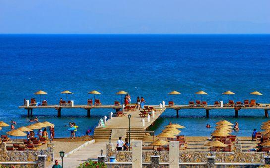 Ege'nin İncisinde Denize Sıfır Tatil Fırsatı Aşa Club Holiday Resort'da Herşey Dahil Tatil Fırsatı