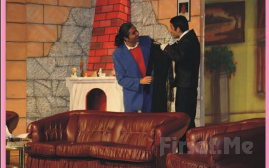 Vodvil Tarzı Komedi 'Arkadaşım Karım Olunca' Tiyatro Oyunu Bileti