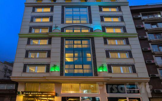 Taksim Time Hotel İstanbul'da 2 Kişilik Konaklama ve SPA Merkezi Kullanımı (Yılbaşı Seçeneğiyle)