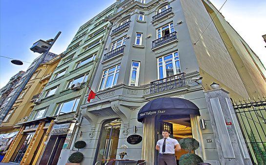 Taksim Star Hotel'de 2 Kişilik Konaklama ve Kahvaltı Seçenekleri