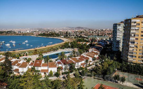 Gebze Bayramoğlu Paradise island Otel'de 2 Kişilik Konaklama ve Açık Büfe Kahvaltı Keyfi